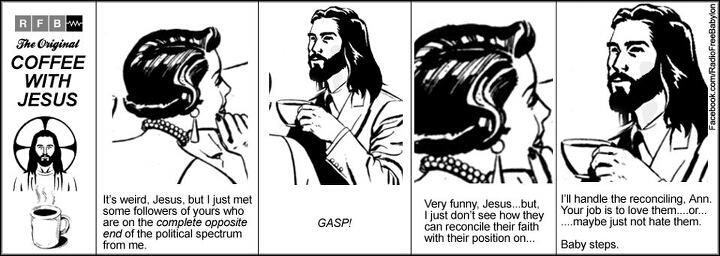 Where Would Jesus GrabCoffee?